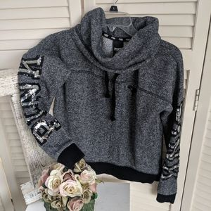 PINK Large Spell out Sweatshirt